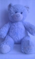 Adorable Rare 'Winter' Retired Seasons Build-a-Bear Snowflake on Nose 2007